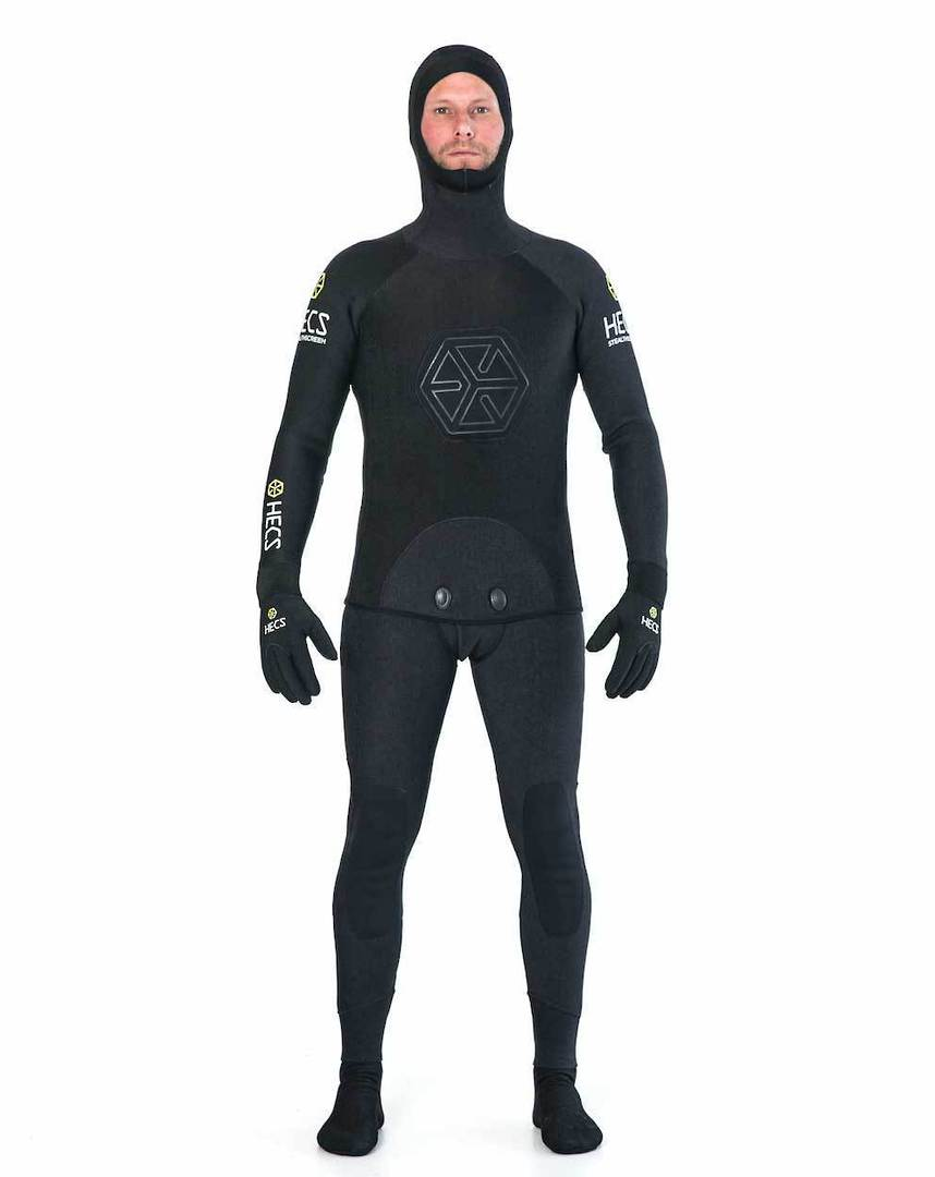 Hec's 5mm Spear Wetsuit Black 1 only in xl image 0