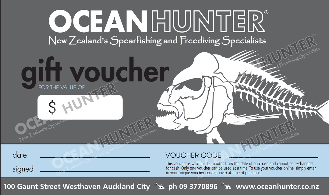 Ocean Hunter Gift Voucher image 0