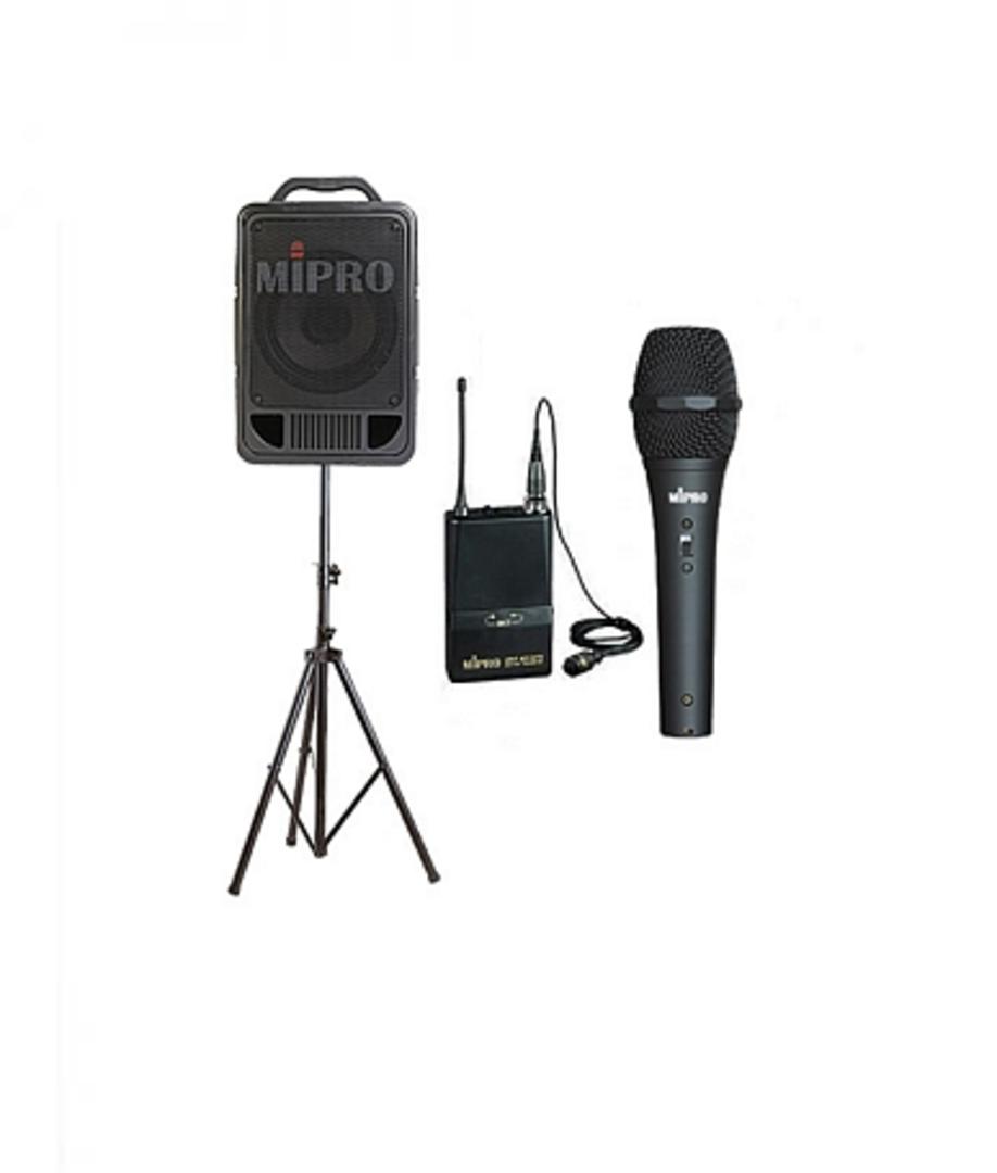 Mi-Pro 707 Portable PA Sound System image 0
