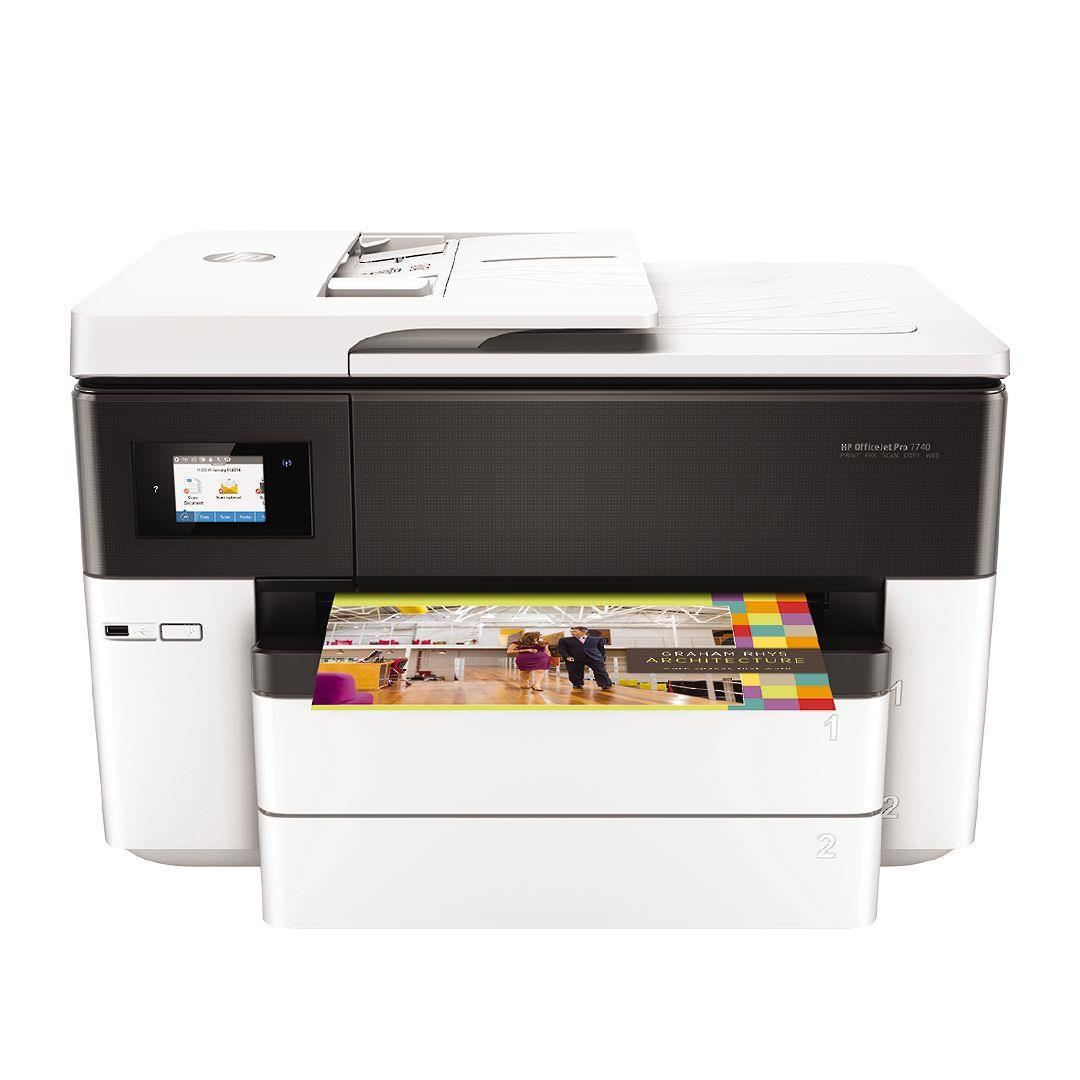 HP Office Jet 7740 AIO A3 / A4 Colour InkJet Printer image 0