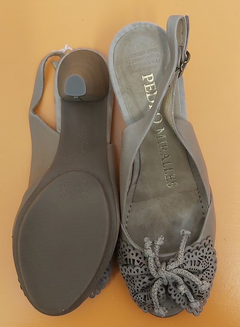 Pedro Miralles Sling Back Shoes image 3