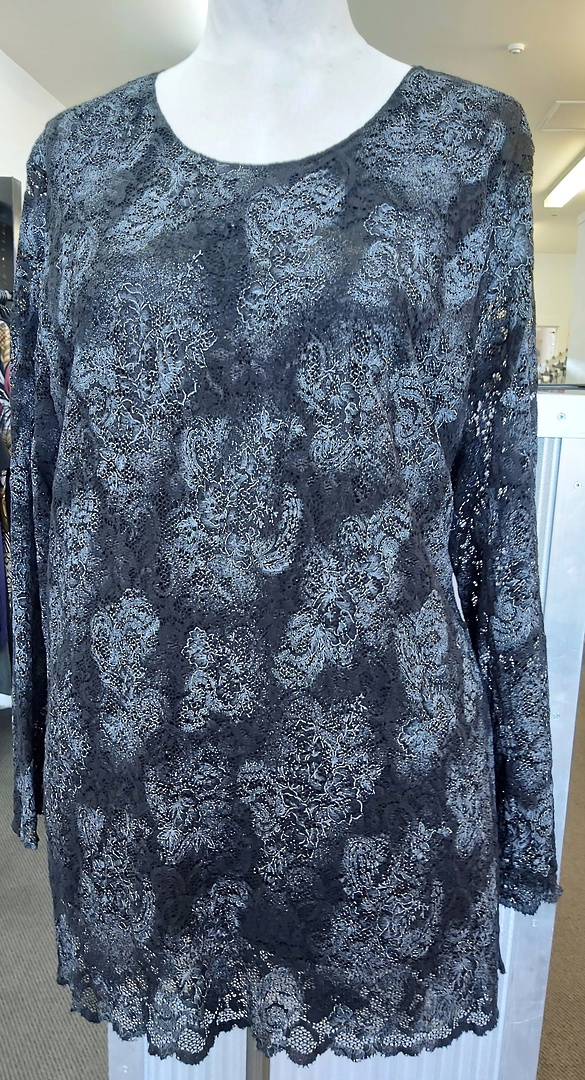 Ruby Lined Lace Top image 0