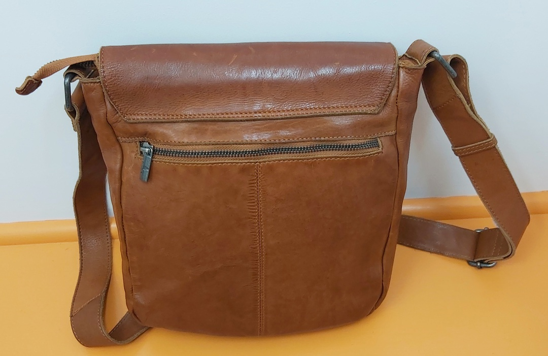 Urban Forest Leather Satchel image 2