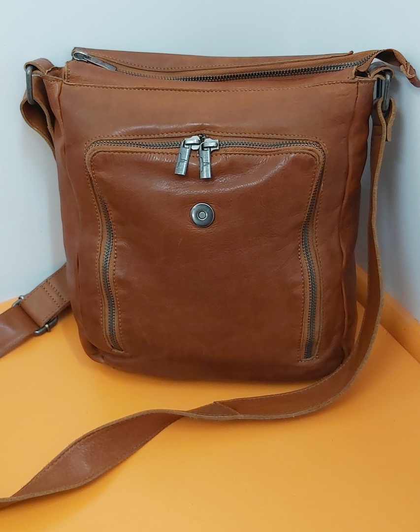 Urban Forest Leather Satchel image 1