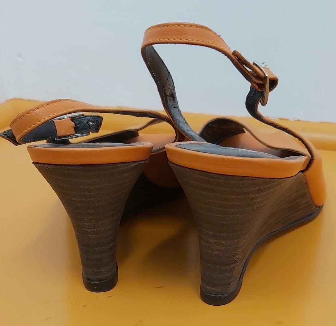 Renetti Orange Sling Back Sandal image 2