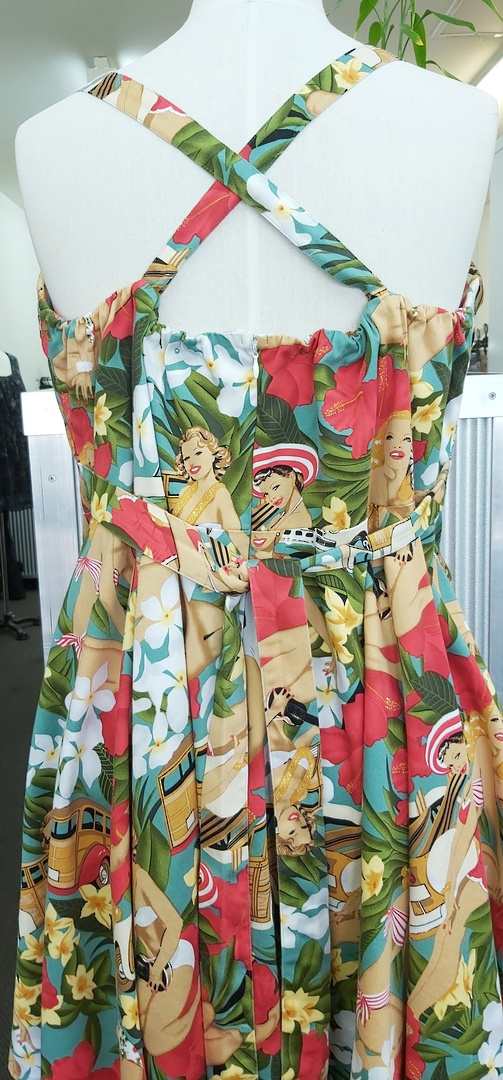 Miss Lulo Cross Back Dress image 2