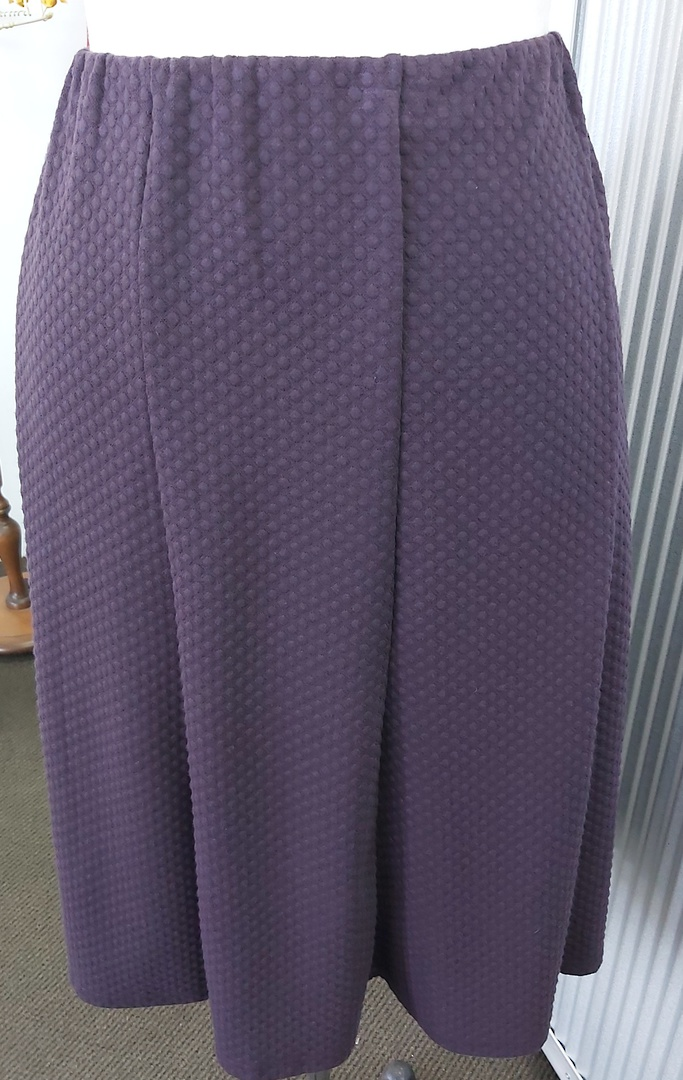 LS Collection Textured 8 Gored Skirt image 0