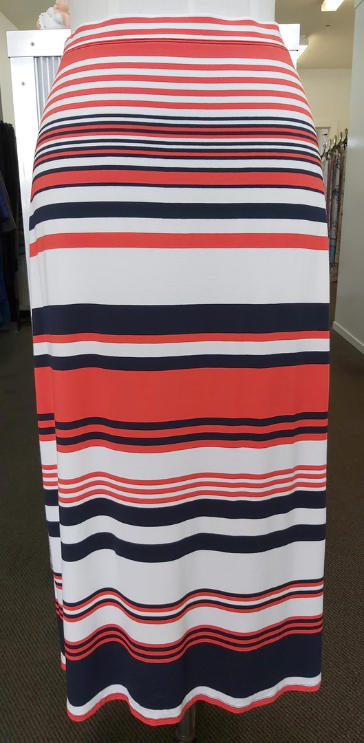 Mela Purdie Knit Stripe Skirt image 0