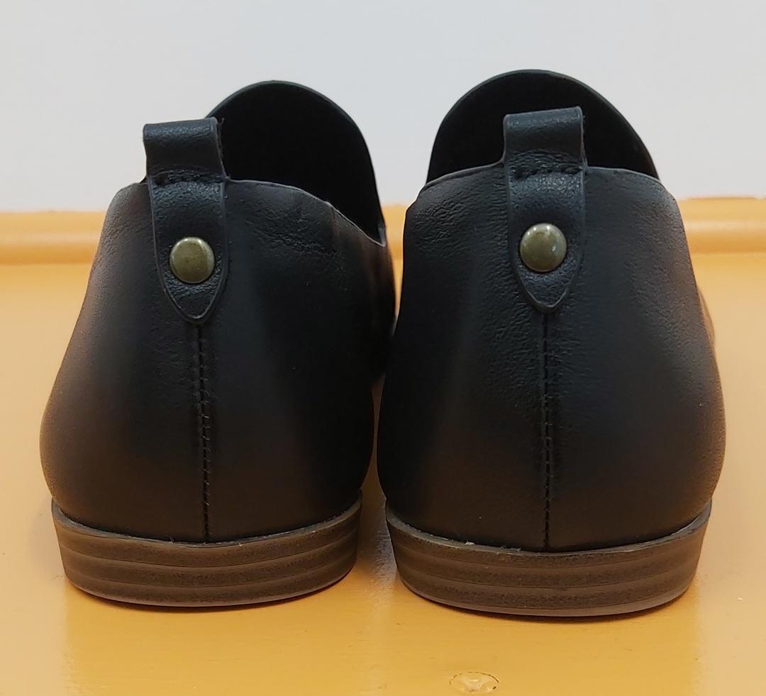 Noir Leather Loafer image 1