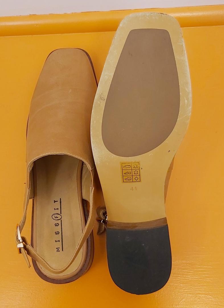 MissFit Tan Sling Back Shoe image 2