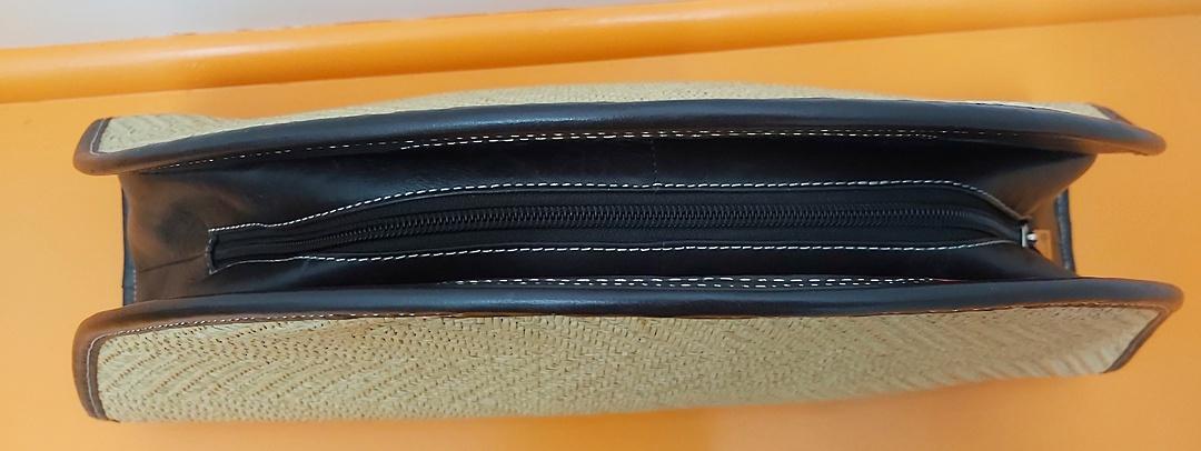 Cellini Rattan Weave Bag image 1