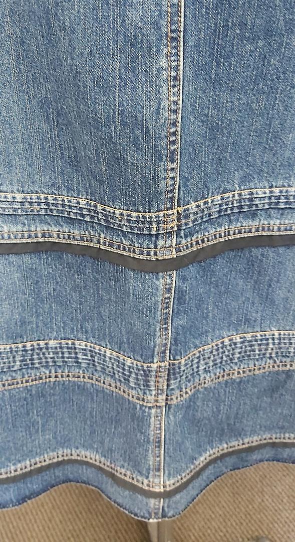 Jacqui E Denim Skirt image 1