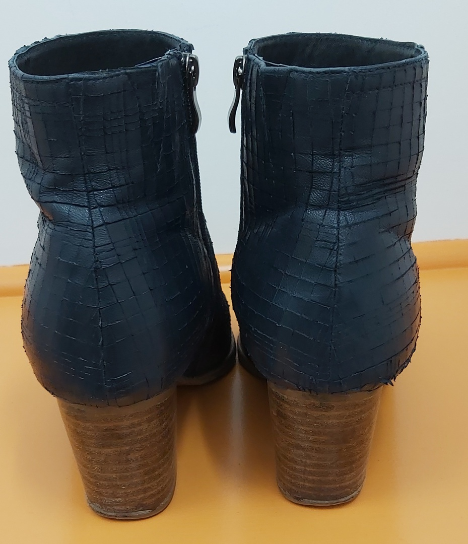 Parker Roche Navy Ankle Boots image 2