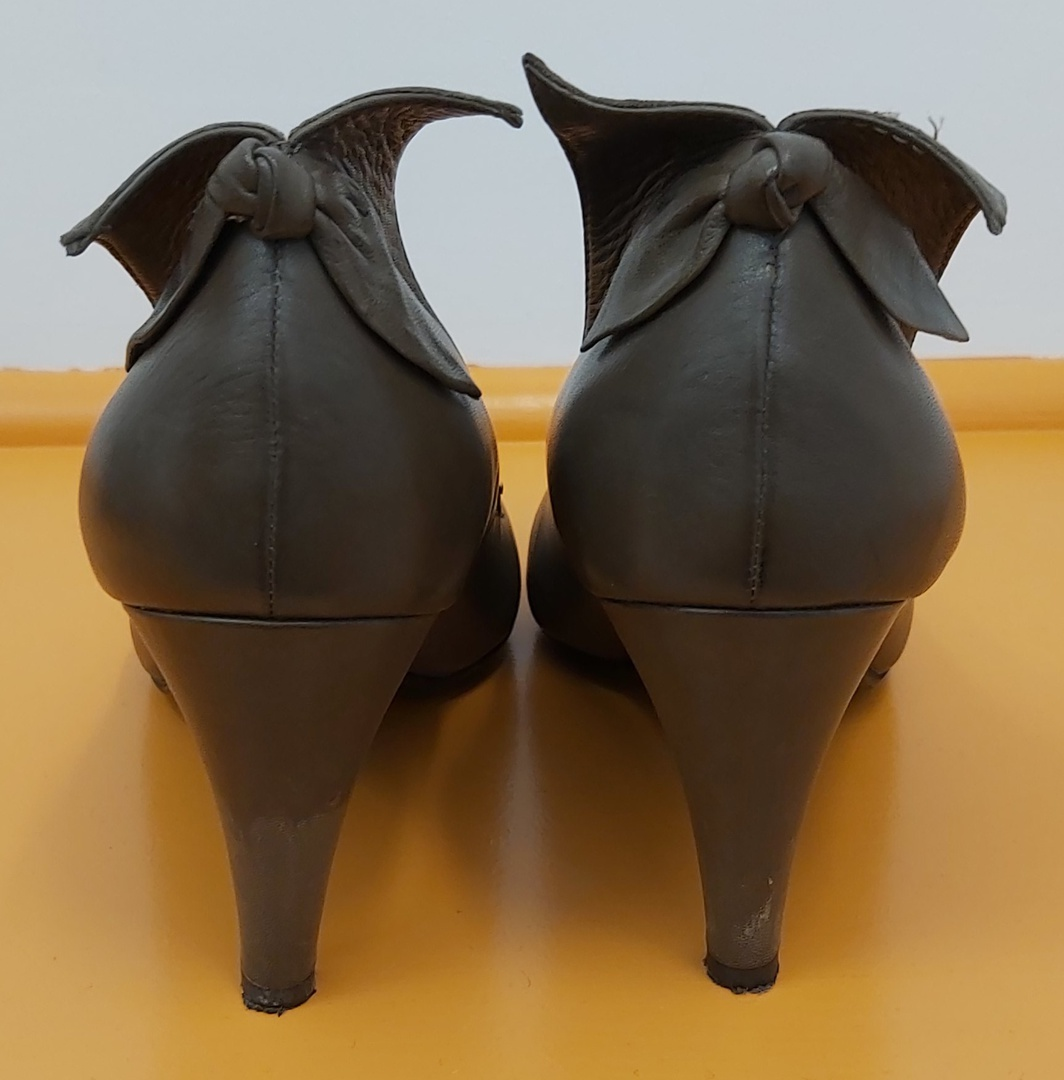 Bruno Premi Coffee Leather Shoes image 1