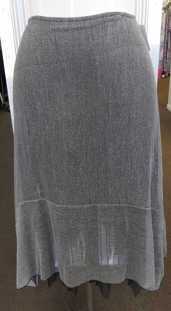 Eclipse Silver Net Skirt image 0