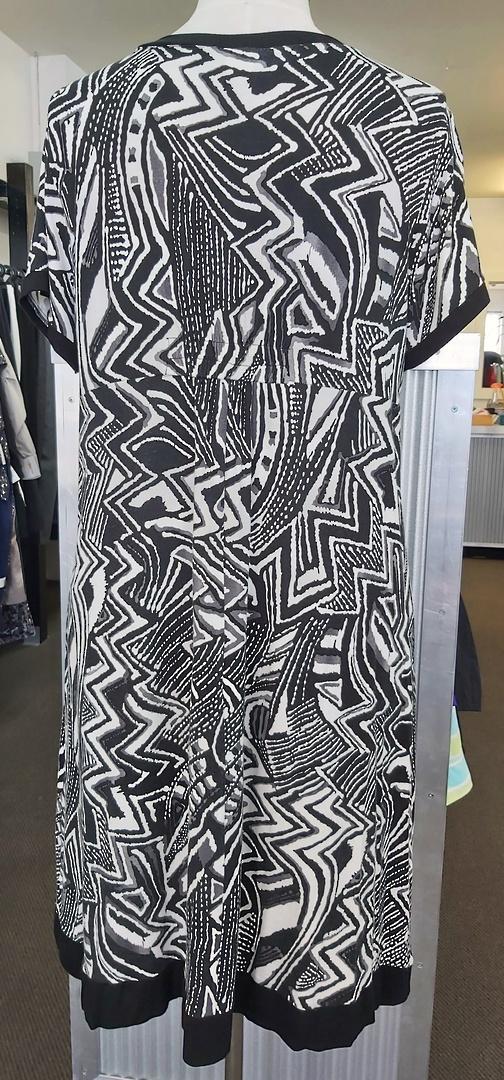 Cashews Print Knit Dress image 1