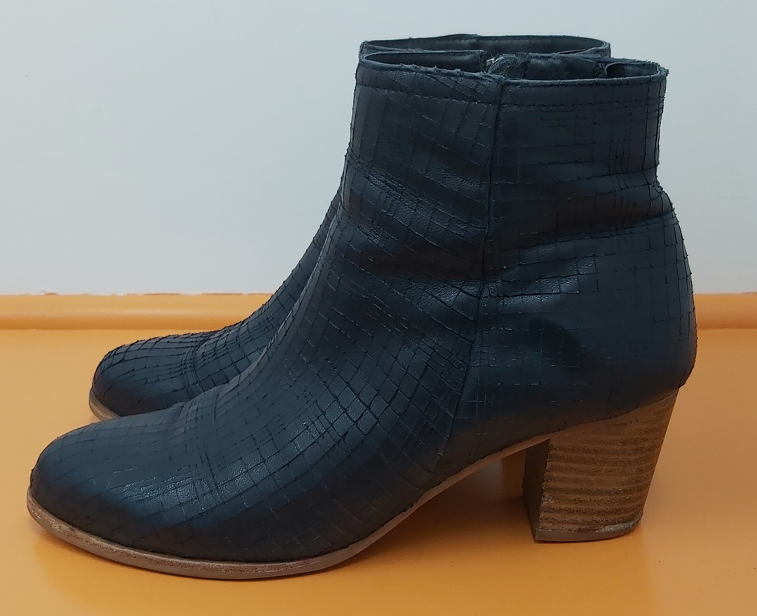 Parker Roche Navy Ankle Boots image 1