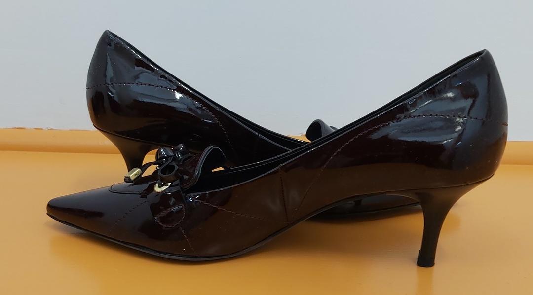 Hogl Dark Plum Leather Shoes image 2