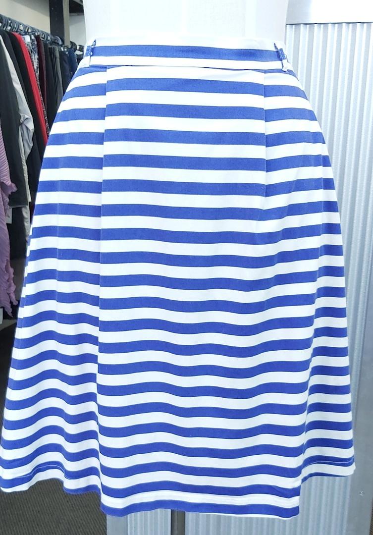 Modcloth Stripe Skirt Lined image 0