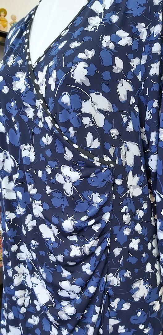 Jacki Peters Crossover Dress image 1