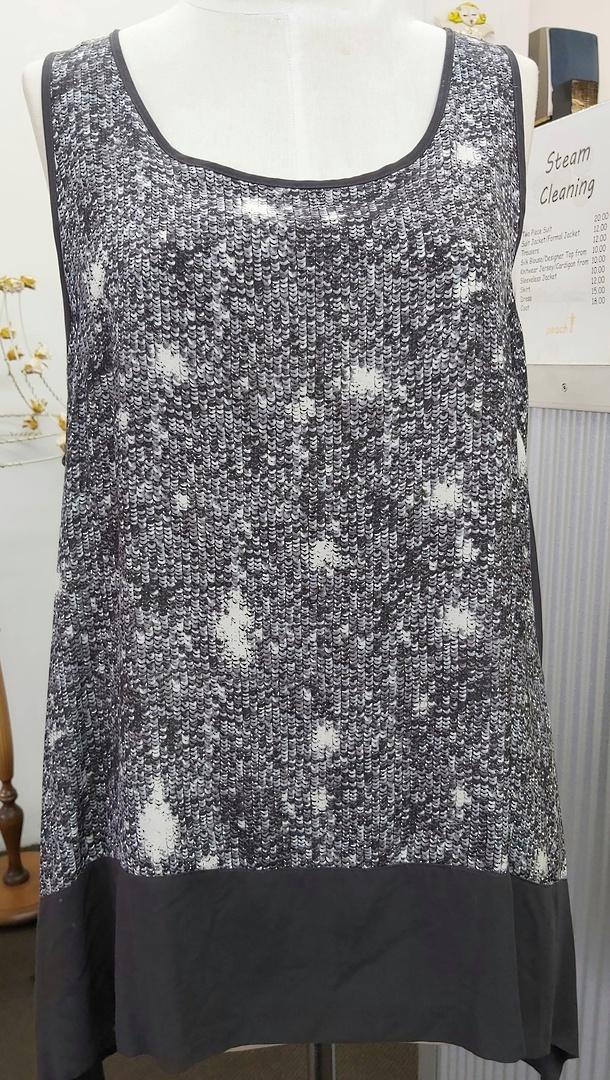 Obi  Sequin Print Tunic image 0