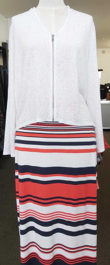 Mela Purdie Knit Stripe Skirt image 1