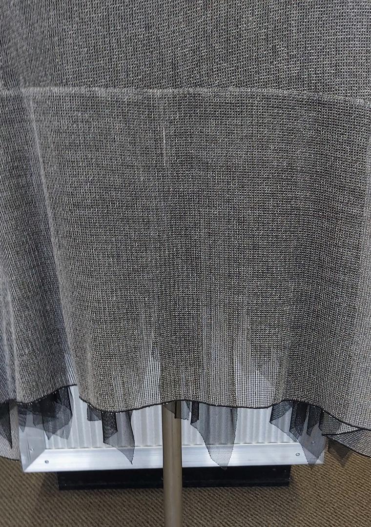 Eclipse Silver Net Skirt image 1