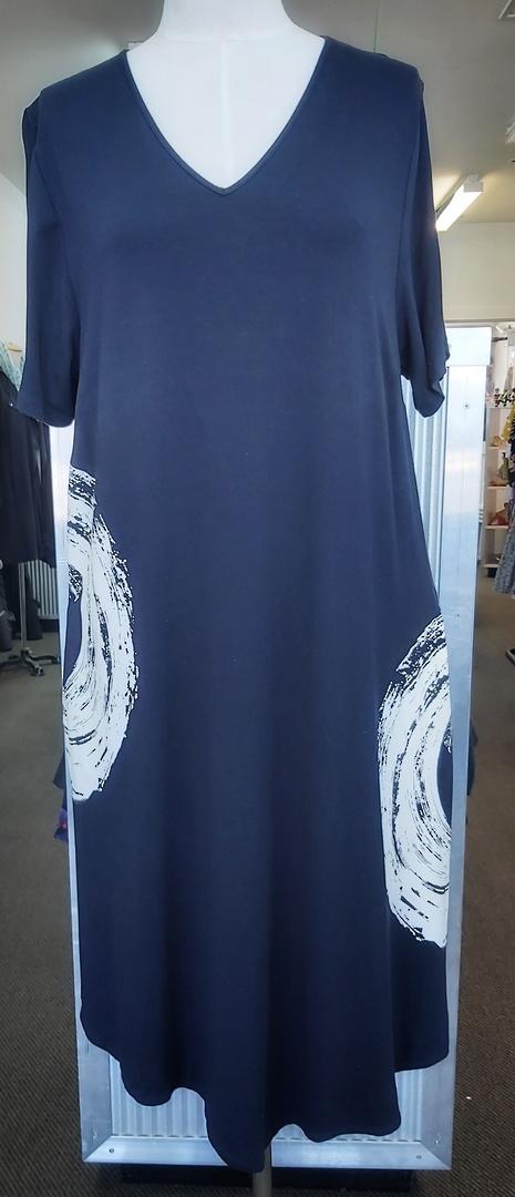 Taking Shape Pocket Tee-Shirt Dress image 0