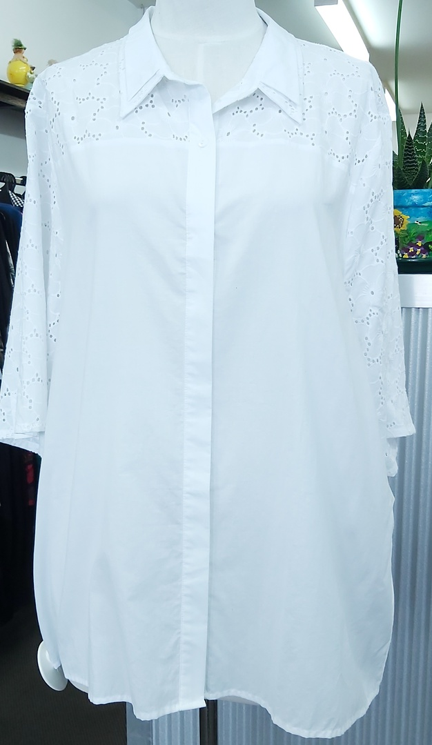 ASOS Curve Cotton Shirt image 0