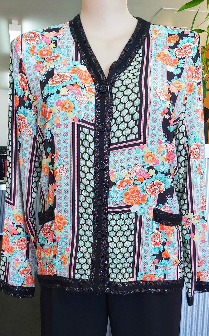 Libertine Print Button Jacket image 0