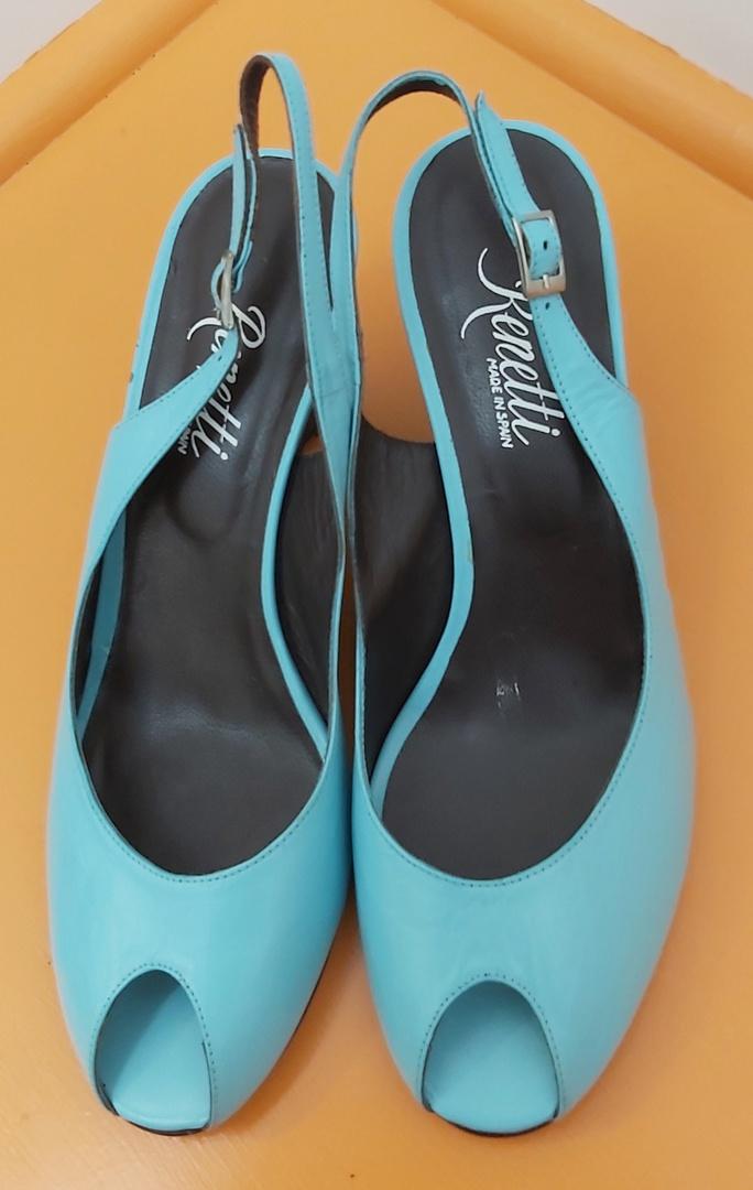 Renetti Aqua Sling Back Sandal image 0