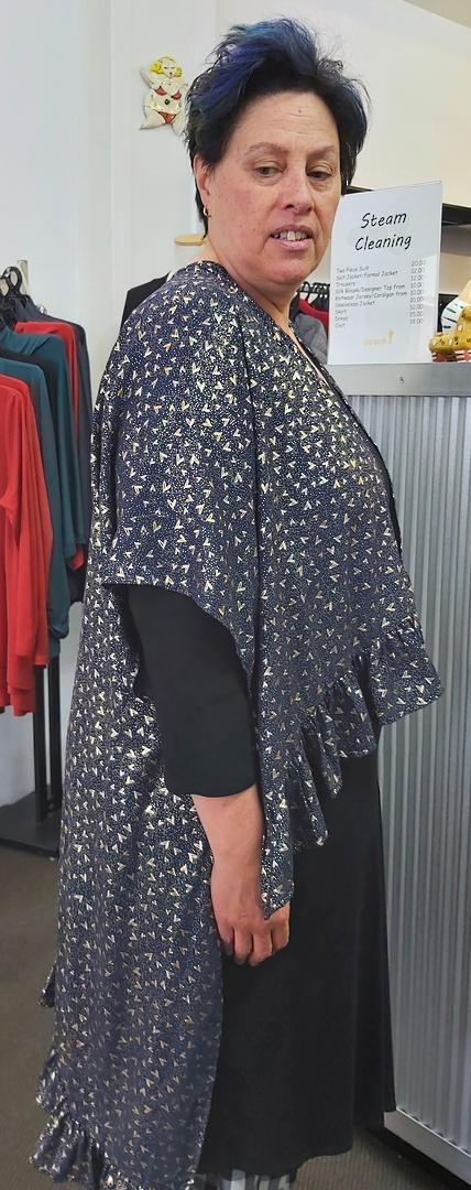 Augustine Frill Duster Coat image 0