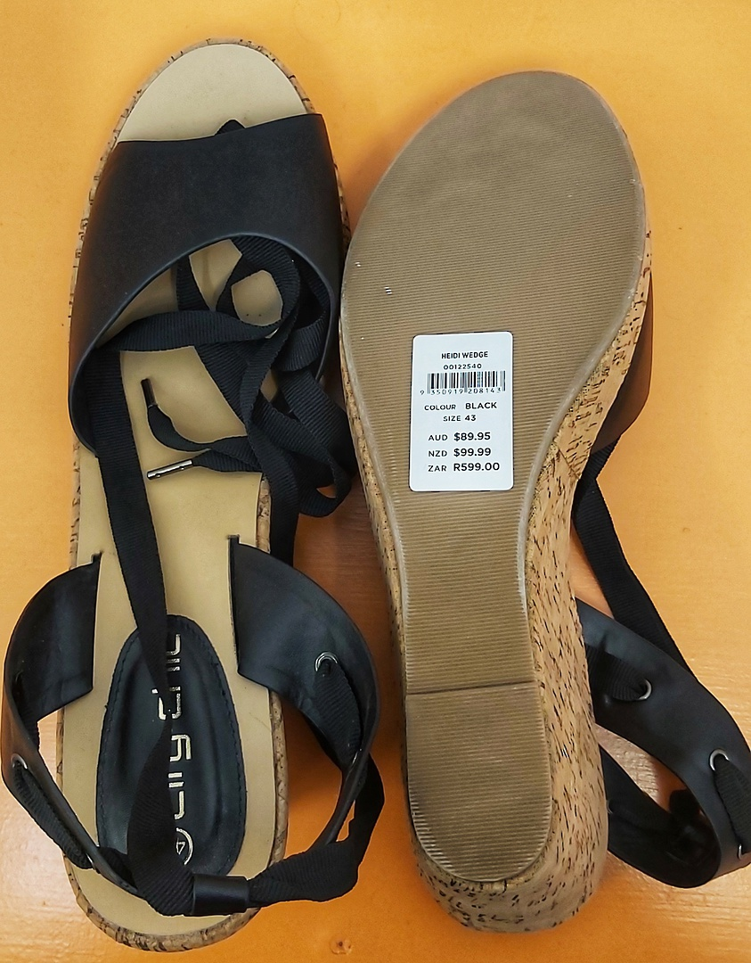 City Chic Wedge Shoes image 3