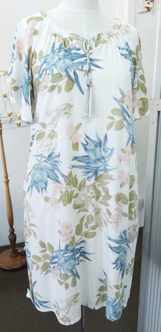 Jendi Print Dress image 0