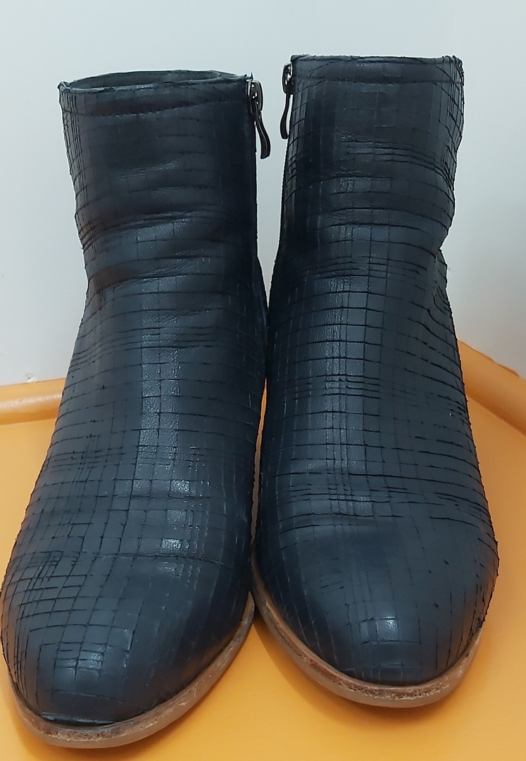 Parker Roche Navy Ankle Boots image 0