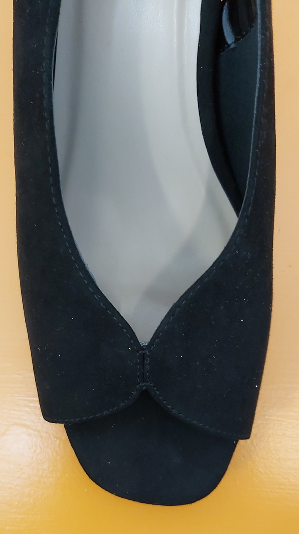 Evans New Black Dress Shoe image 1