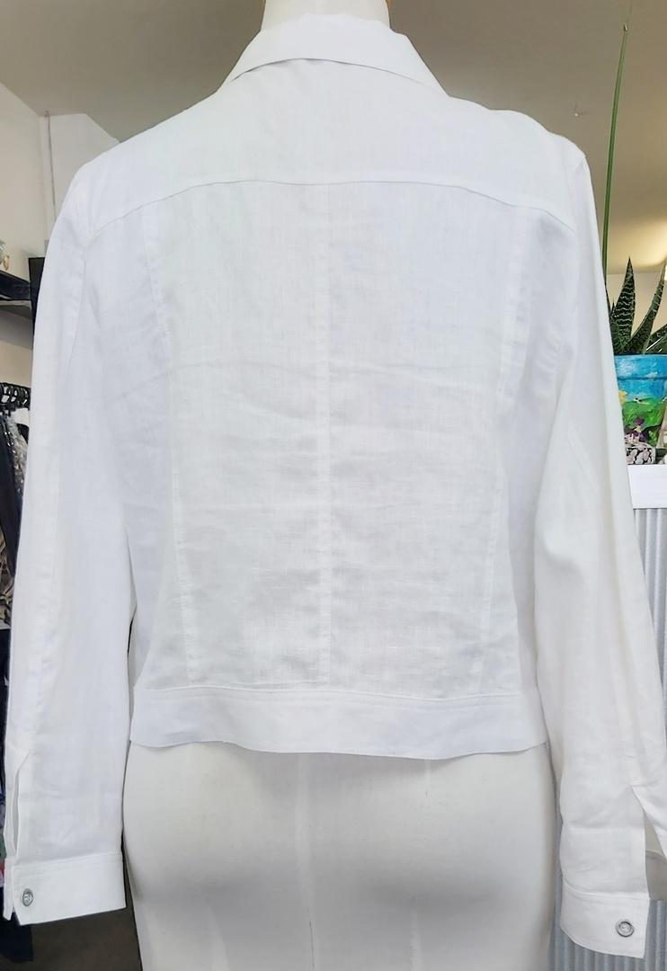 Jacqui  E Linen Jacket image 1