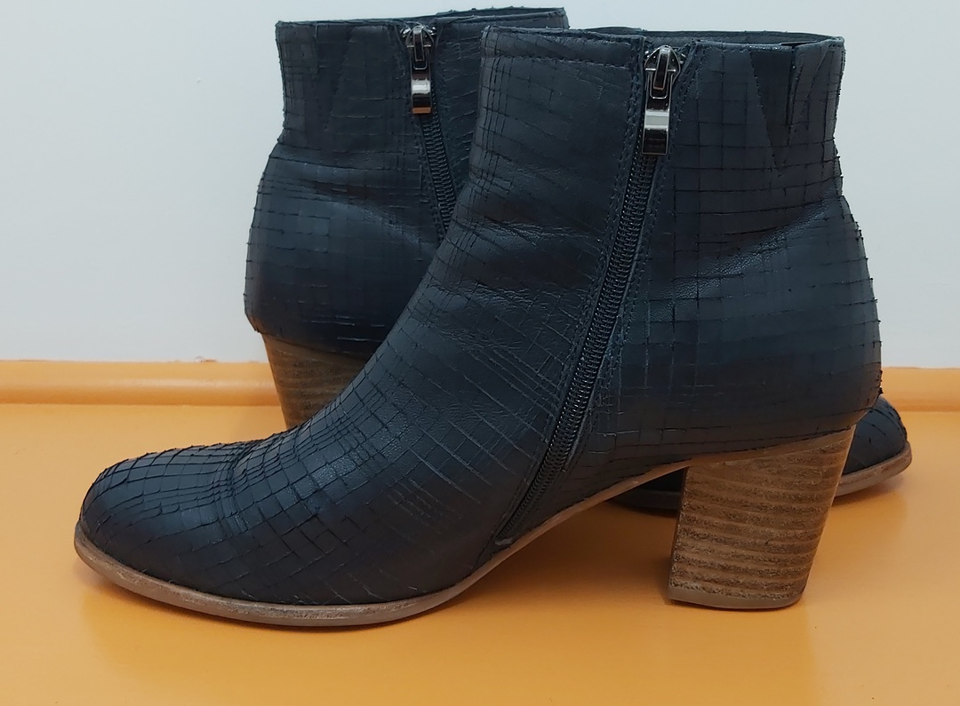 Parker Roche Navy Ankle Boots image 4