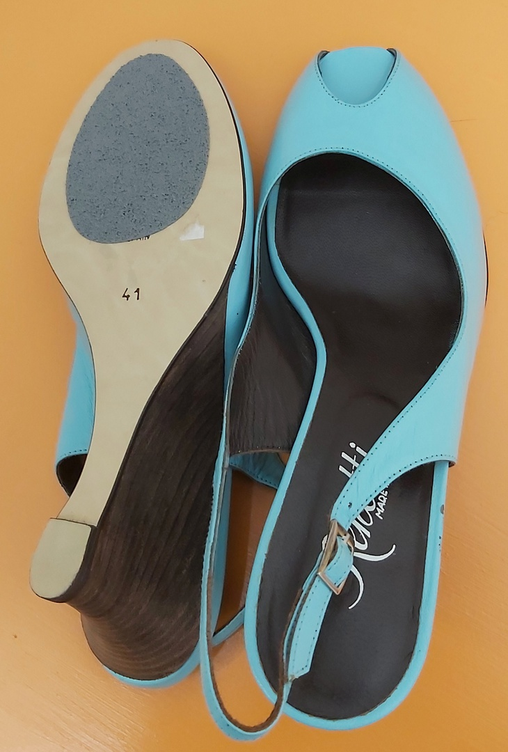 Renetti Aqua Sling Back Sandal image 3