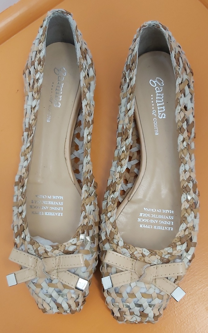 Gamins Plaited Leather Shoes image 0