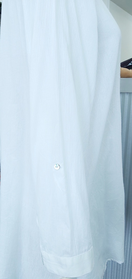 Virtuelle Pintuck Cotton Shirt image 3