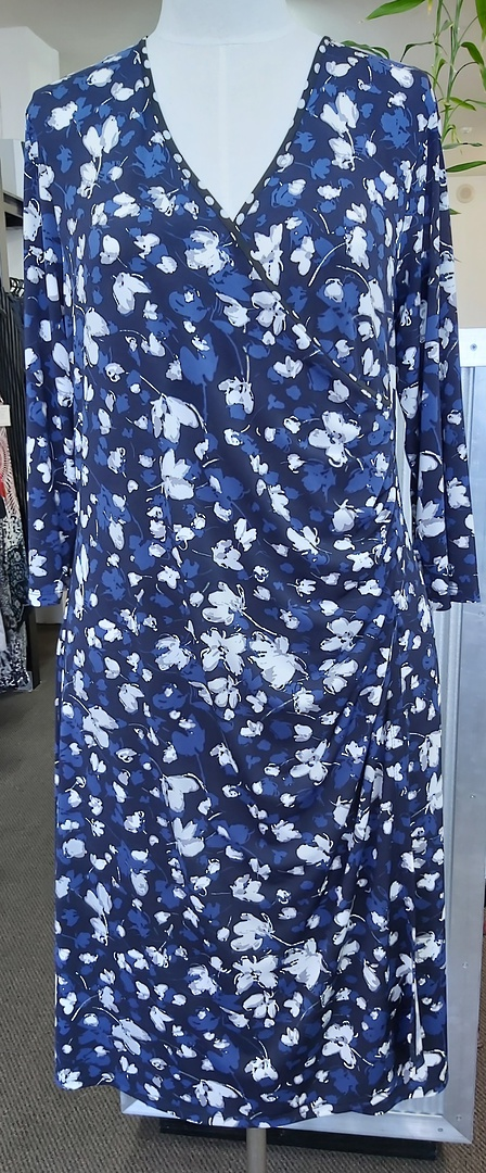 Jacki Peters Crossover Dress image 0