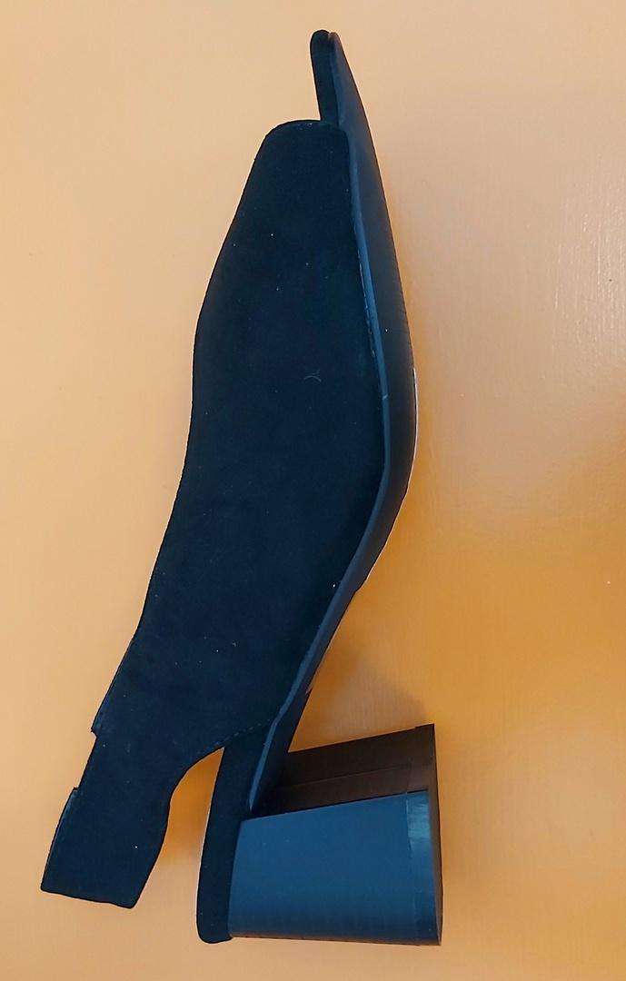 Evans New Black Dress Shoe image 2