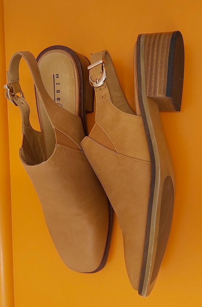 MissFit Tan Sling Back Shoe image 1