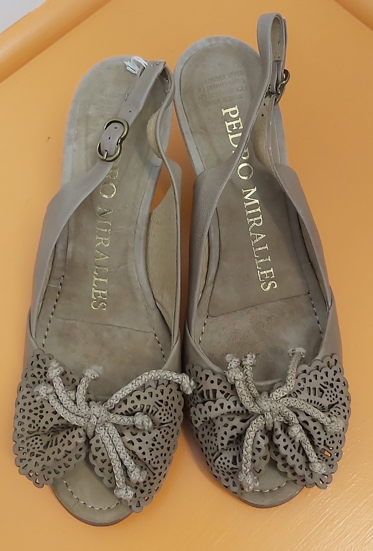 Pedro Miralles Sling Back Shoes image 0