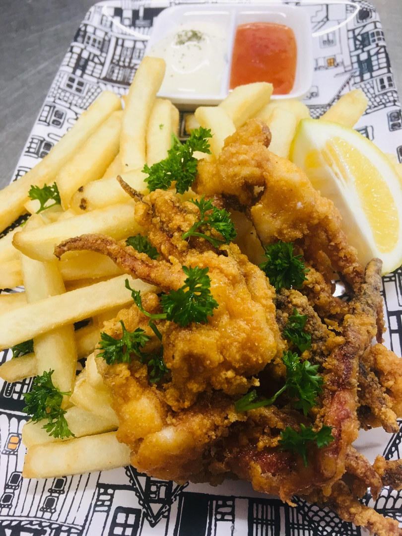 Crispy spiced squid image 0