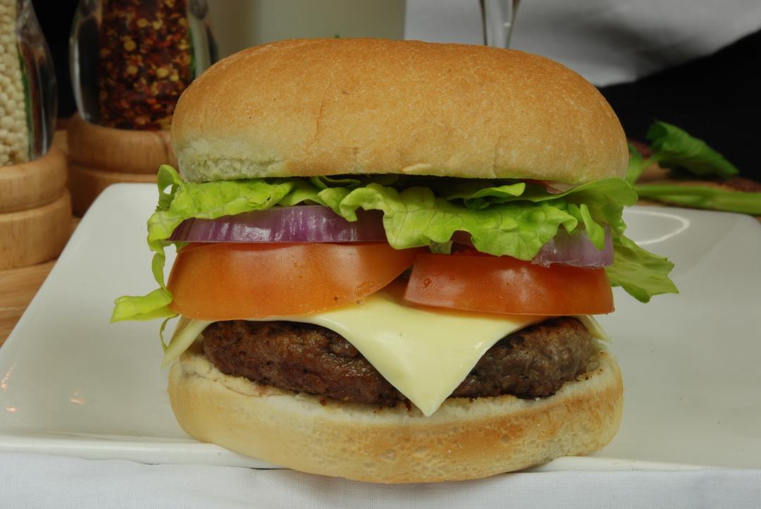 Cheesy Beef Burger image 0