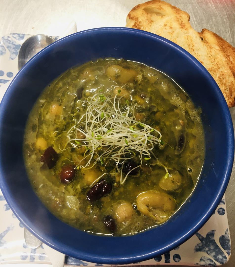 Four Bean & lentil Soup image 0