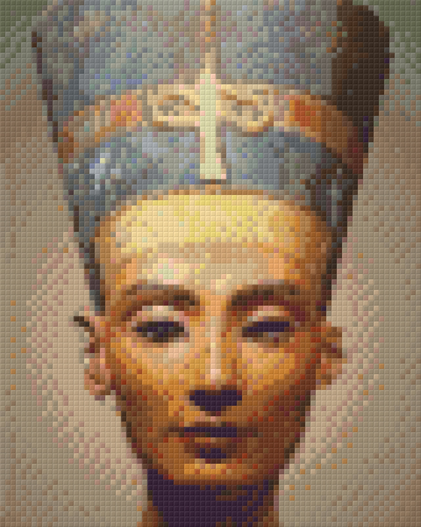 Nephertiti Four [4] Baseplate PixelHobby Mini-mosaic Art Kit image 0