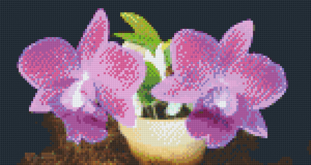 Purple Pair Six [6] Baseplate PixelHobby Mini-mosaic Art Kits image 0